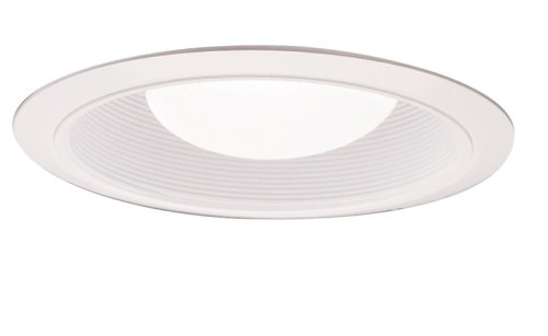 Halo Trim (Halo 310W Trim with Coilex Baffle, 6-Inch, White)