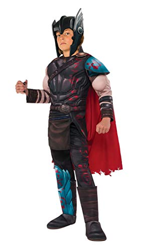 Child's Deluxe Muscle Chest Gladiator Thor Costume - Medium - Children's Costume
