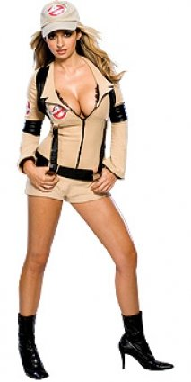 [Ghostbuster Costume - Small - Dress Size] (Ghostbusters Womens Costume)