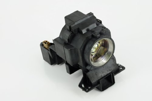 eWorld High Quality HITACHI Replacement Bulb/Lamp Module with Housing Compatible for HITACHI CP-SX12000/WX11000/X10000, CP-X10001, CP-X11000 ; DUKANE I-PRO 8951P/8952P Projector