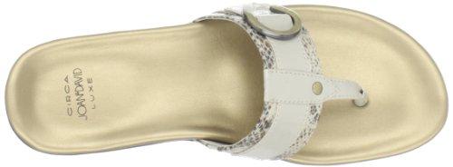 Circa Joan & David Womens Mykos Sandal Off White