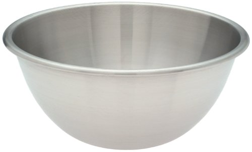 Amco Stainless Steel Mixing Bowl, 6.5-Quart