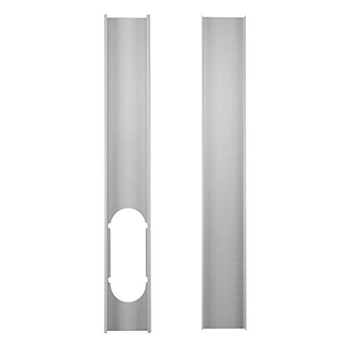 Aland 2Pcs Window Slide Kit Plate/6inch Window Adapter for Portable Air Conditioner Mobile Air Conditioner Adjustable Window Sealing Plate 2#