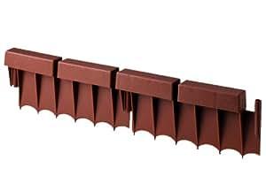 Suncast BRE10 16-inch Interlocking Border Edging