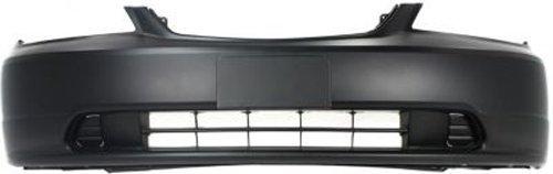 Crash Parts Plus Primed Front Bumper Cover Replacement for 2001-2003 Honda Civic