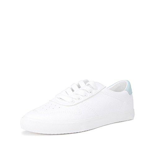 Señora Zapatos Dulce verde 38 Casuales Mujer Planos De Moda Spring Dhg Blancos College ndxPqYp0df