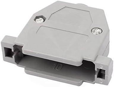 D-Sub Connector Housing Enclosure Shell 25 Pole//44hd Grey 0266