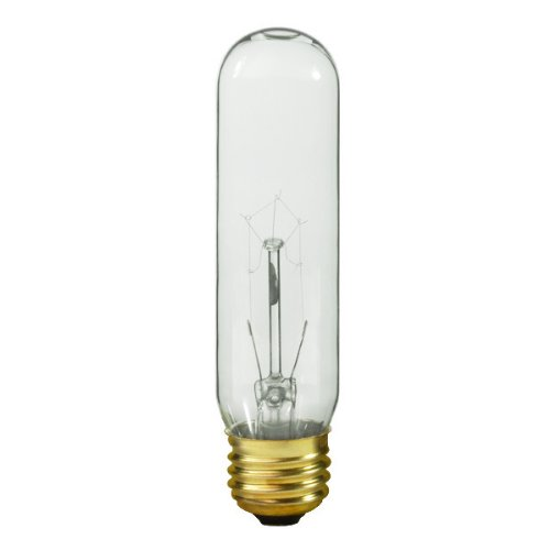 Halco 9012 - 25 Watt Light Bulb - T10 - Clear - 2,500 Life Hours - 180 Lumens - 130 Volt