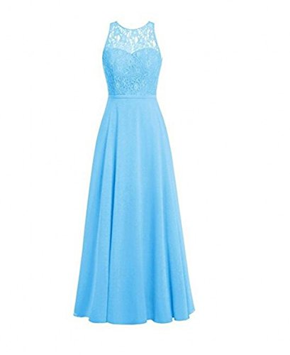 of Damen Blau Kleid Leader the Beauty t6nXtdH