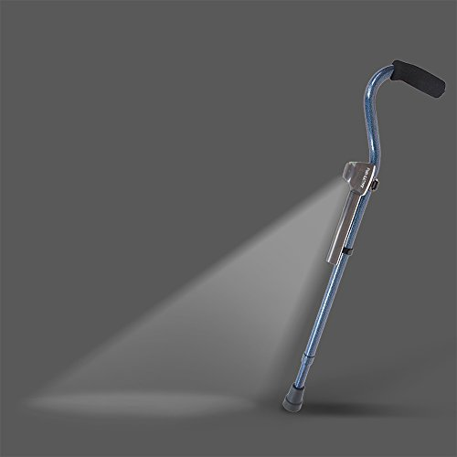 Path Light Attachment for Canes and Walkers Helps Prevent Falls, Fully Automatic Mobility Light Turns ON Only When ()