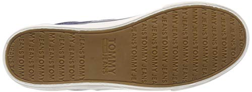 Gris Basses Wmn Femme Sneaker Sneakers Jeans Classic 006 ink Tommy 50AqwTw