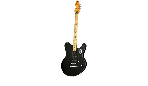 Robert Smith Schecter Ultracure VI 6 cuerdas para guitarra eléctrica, color negro: Amazon.es: Instrumentos musicales
