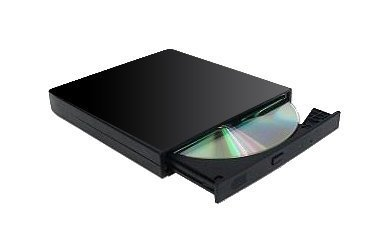 External USB 8X DVD +/-RW Dual Layer Burner for PC or Laptop