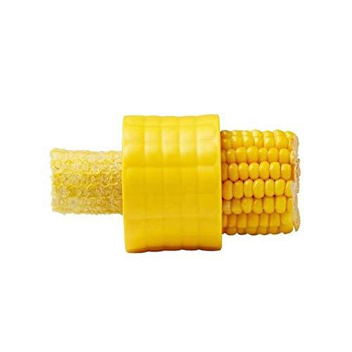 Creative Home Gadgets Corn Stripper Cob Cutter Manual Circular Threshing Stainless Steel Multi-function Peel Corn Grain Corn Stripping Peeler ()