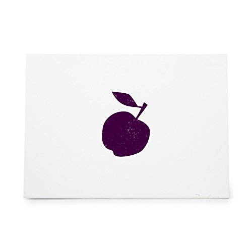 Apple Fruit Style 6550, Rubber Stamp Shape great for Scrapbooking, Crafts, Card Making, Ink Stamping -