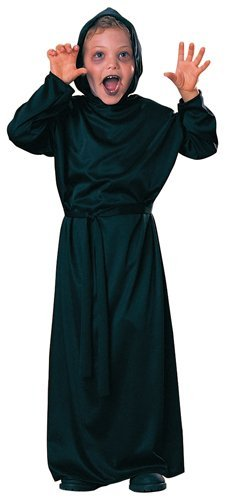 Hooded Robe Child Costumes (Rubies Horror Robe Halloween Costume Childs Medium, Size 8 - 10)