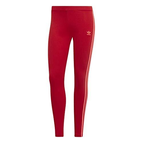 adidas Originals Women's 3 Stripes Legging, Scarlet, Large