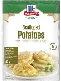 McCormick Scalloped Potato Recipe Base 40 g,  40 g