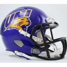 NCAA Northern Iowa Panthers Speed Mini Helmet - Northwestern Iowa Football
