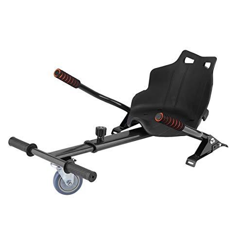 V.JUST Asiento para Kart eléctrico Self Balancing Scooter Karting Soporte Compatible con Todas Las Ruedas de 6,5, 8 y 10...