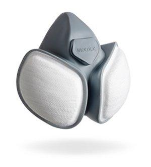 Moldex Compact máscara 5430 FFABEKP3RD media máscara con filtro electroestático/Alias Flymask