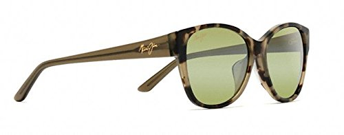 Maui Jim Summer Time Polarized Sunglasses - Women's Olive Tokyo Tortoise / Maui HT One - Case Maui Jim