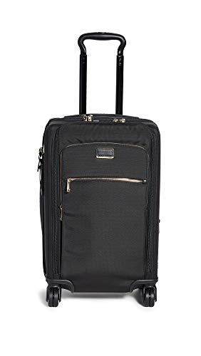 (Tumi Women's Sutter International Suitcase, Black/Gold, One Size)