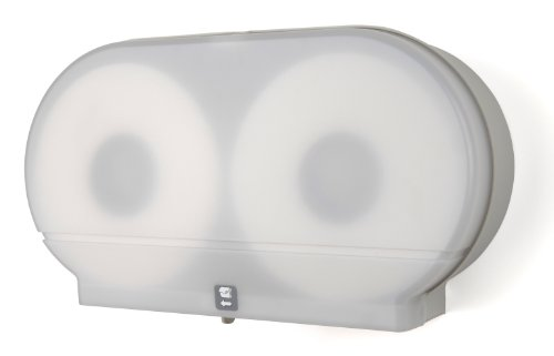 Palmer Fixture RD0027-03 Twin Jumbo Tissue Dispenser with 33/8