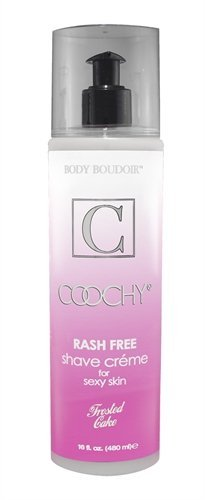 Coochy Rash-free Shave Cream (All Scents Available) (Frosted Cake) by Presidential Collection