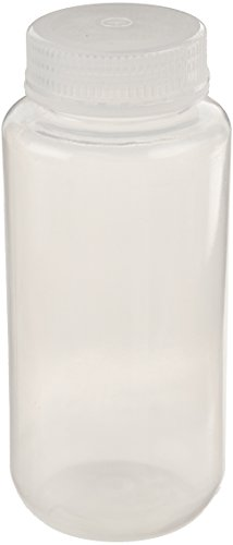 United Scientific 33309 Polypropylene Wide Mouth Reagent Bottles, 500ml Capacity (Pack of 12) -