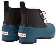 Hunter Women's Original Short Insulated Pac Boots (10, Black/Galvanize)