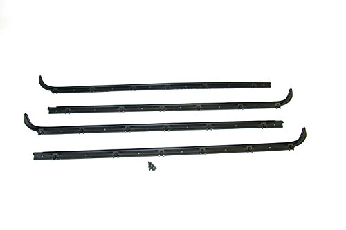 Fairchild Automotive KF2021 Inner and Outer Belt Weatherstrip Kit (Driver Side & Passenger Side, Without Vent)