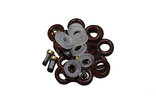 The Injector Shop 4-149 Fuel Injector Rebuild Seal Kit for Chevrolet Ford BMW Land Rover 8 Cylinder