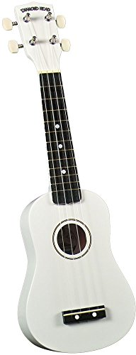 Expert choice for ukulele diamond head white