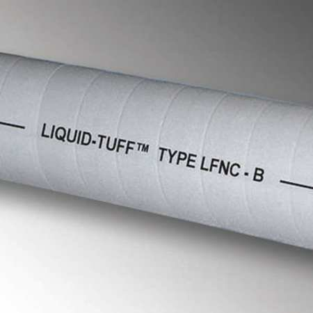 Liquid-Tight Conduit, 2 In x 50 ft, Gray