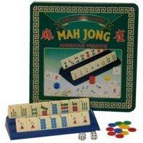 American Mahjong in Tin Case