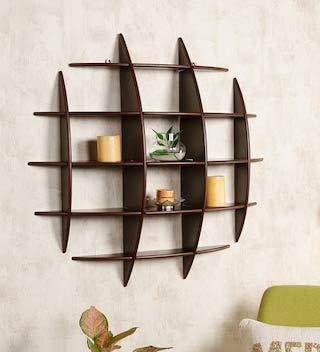 Raza Handicraft Wooden Decorative Floating Wall Shelf Display Unit For Home Decor Living Room Decor Kitchen Decor Office Wall Decor Amazon In Electronics
