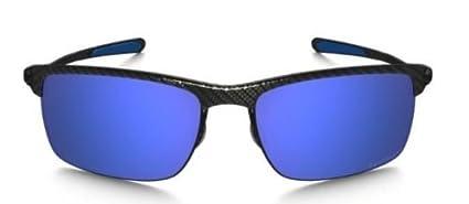 Oakley OO9174 - 05 de fibra de carbono marco polarizadas Ice Iridio 66 mm lente gafas de sol: Amazon.es: Deportes y aire libre