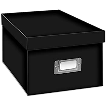 Exceptional Pioneer Photo Albums BCD 1BLK CD/DVD Storage Box, Black
