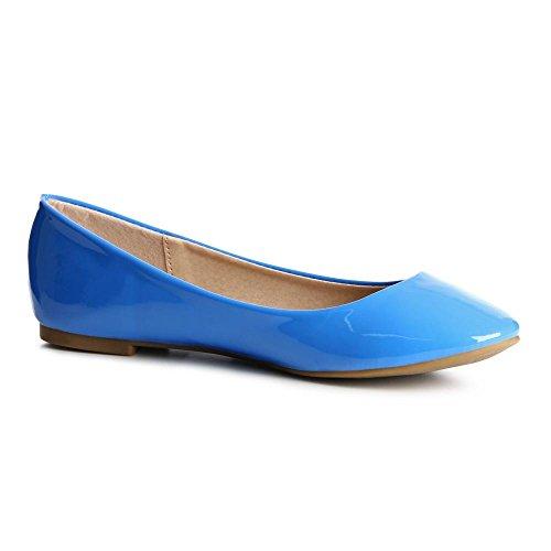 topschuhe24 para mujer Azul topschuhe24 Bailarinas mujer topschuhe24 para mujer para Bailarinas Azul Bailarinas Eq0AHqwZ