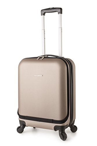TravelCross Boston 21'' Carry On Lightweight Hardshell Spinner Luggage - Champagne