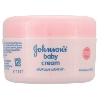 Johnson & Johnson Baby Cream for Moisturizing, Dry, Baby Skin 50 g