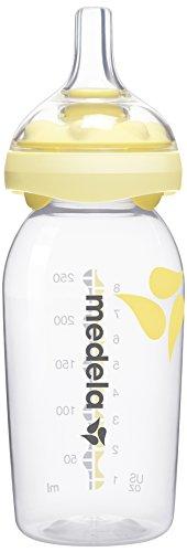 - Medela Calma Breast Milk Feeding Nipple for Breastmilk Bottles, Pack of 2 - 8 ounce Bottles