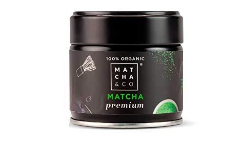 Matcha Premium 100% Ecologico | Te verde en polvo Organico de Japon | Te Matcha de grado ceremonial premium BIO | Matcha & CO (30 g)