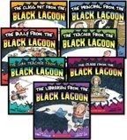 The Black Lagoon 7-Book Set (The Bully from the Black Lagoon, The Class from the Black Lagoon, The Class Pet from the Black Lagoon, The Gym Teacher from the Black Lagoon, The Librarian from the Black Lagoon, The Principal from the Black Lagoon, and The Teacher from the Black Lagoon)