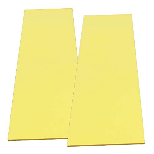 Cardinal Gates Flat Pole Padding (Yellow, 2-Count)