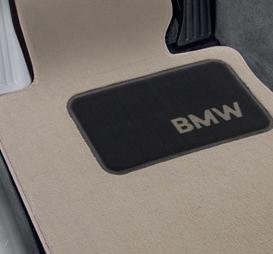 BMW 1 Series Convertible Genuine Factory OEM 82110439373 Taupe Carpet Floor Mats (complete set of 4 mats)