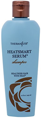 Thermafuse HeatSmart Serum Shampoo (10 ounces) Color Safe, Sulfate Free, Sodium Chloride Free, Hydrating, Moisturizing, Essential Oil, Amino Acid Shampoo Helps to Repair Hair That is Damaged ()
