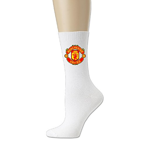 [IAYAYO Manchester United Football Club The Red Devils Cotton Crew Socks] (Football Club Cotton)