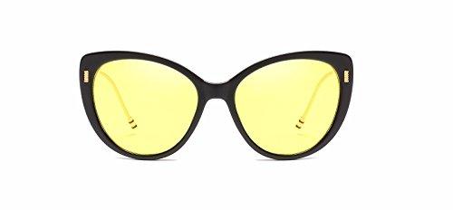 de de Hombre Mujer de E Intellectuality Sol Retro Gafas Gafas Personalidad polarizadas Ojos D Sol w5IqBZPI